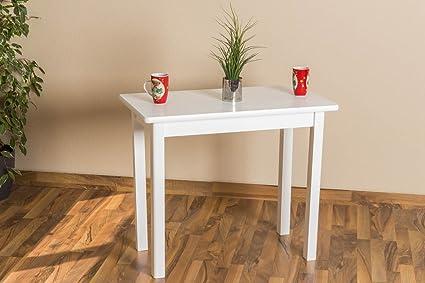 Kleiner weisser Tisch