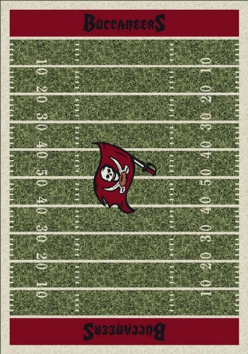 Milliken & Company Tampa Bay Buccaneers 7-Ft. 8-In. x 10-Ft. 9-In. Homefield Area Rug