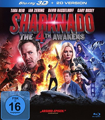 Sharknado 4 - The 4th Awakens (inkl. 2D-Version) [3D Blu-ray]