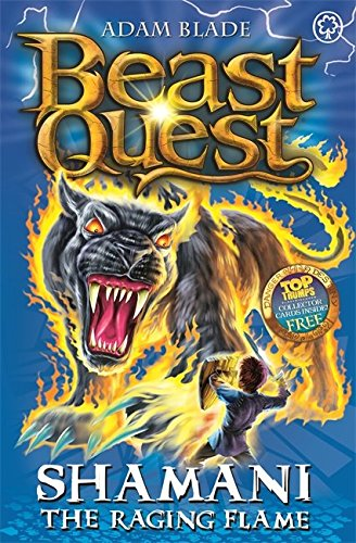 56: Shamani the Raging Flame (Beast Quest)