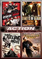 Action Four-pack Operation Endgame Streets Of Blood The Killing Machine Columbus Day from ANCHOR BAY