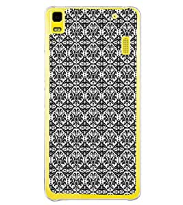 ifasho Designer Phone Back Case Cover Lenovo A7000 :: Lenovo A7000 Plus :: Lenovo K3 Note ( ABCD Alphabets Love Pink )