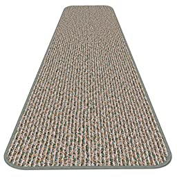 Skid-resistant Carpet Runner - Pistachio Green - 6 Ft. X 27 In. - Many Other Sizes to Choose From