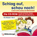 Schlag auf, schau nach! CD-ROM Laura und Lorenz im W�rterwald. Die CD-ROM mit dem kompletten �bungsprogramm der Internet-Plattform. F�r Klasse 1 bis 4. F�r Windows XP, Vista, Win 7 oder Mac OS X