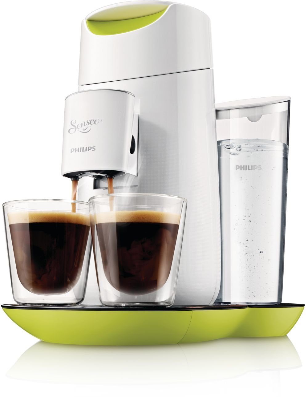 Cafeti�res �lectriques PHILIPS SENSEO TWIST HD787011 VERT