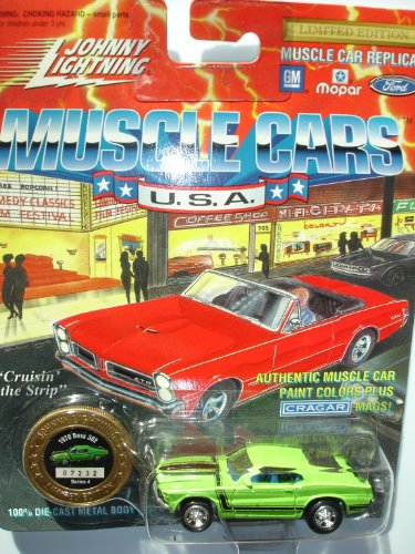 Johnny Lightning 1994 Muscle Cars USA Green 1970 Boss 302 Series 4 - 1