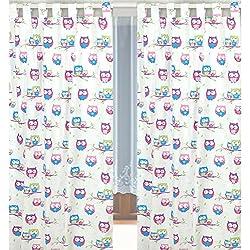 Kinderzimmer-Vorhang, 155x95cm (2 Stück) D37
