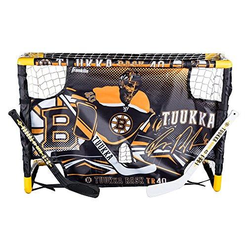 Franklin Sports Tuukka Rask Mini Hockey Goal Set with Target (Mini Hockey Goalie Set compare prices)