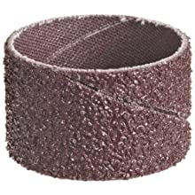 "3M  Cloth Band 341D, 1-1/2"" Diameter x 1"" Width, 36 Grit, Brown (Pack of 100)"