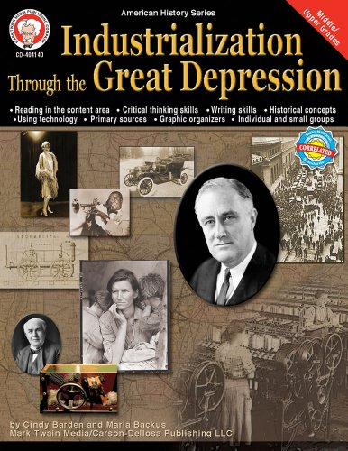 Industrialization Through The Great Depression, Grades 6 - 12 (American History Series) front-23935
