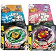 2x Beyblades, Earth Eagle (Aquila) 145WD + Flame Libra T125 in RETAIL PACKAGING