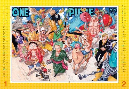 ONE PIECE  コミックカレンダー2012  (SHUEISHA コミックカレンダー2012 )