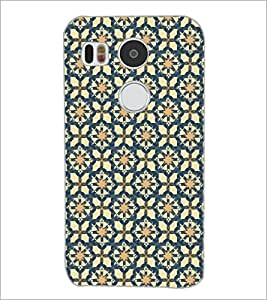 PrintDhaba Pattern D-5355 Back Case Cover for LG NEXUS 5X (Multi-Coloured)