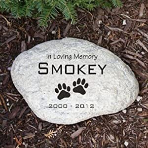 Personalized Pet Memorial Stone Small Size