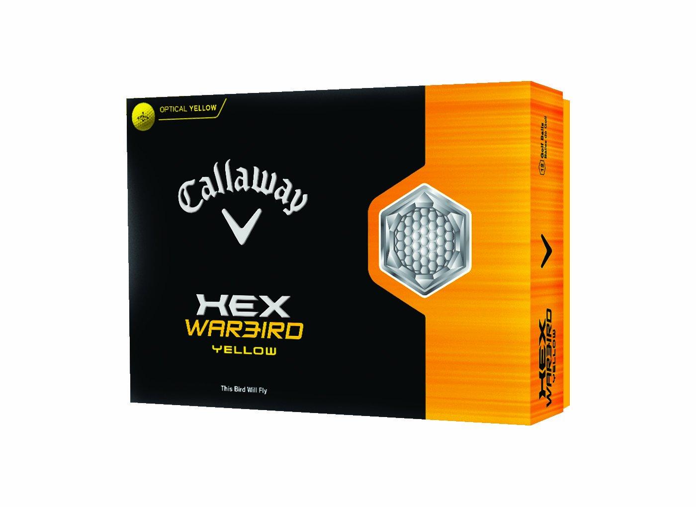 Callaway HEX Warbird Golf Ball -Pack of 12