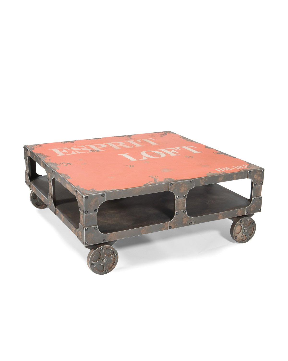 25 incredible rustic coffee table with wheels okhlitescom for Rustic coffee table with casters
