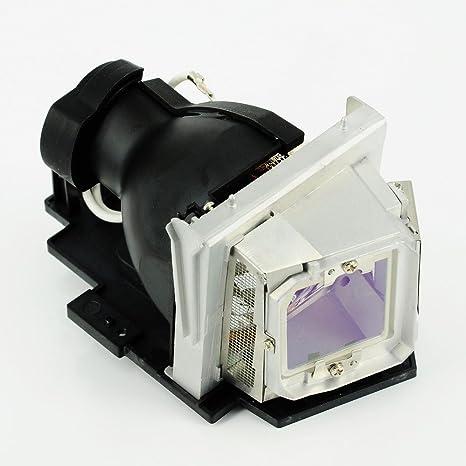 haiwo 317-1135/725-10134de haute qualité Ampoule de projecteur de remplacement compatible avec boîtier pour Dell r511j 4210X, 4310WX 4610X.