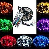QUMOX 10m 1000CM RGB 5050 300 SMD LED Strip Leiste Streifen + 44 Key Fernbedienung