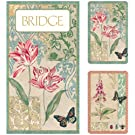 Entertaining with Caspari Bridge Gift Set with Jumbo Typeface, Decoupage