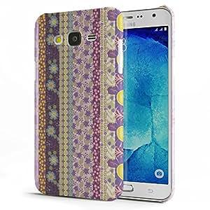 Koveru Back Cover Case for Samsung Galaxy J7 - Fabric pattern