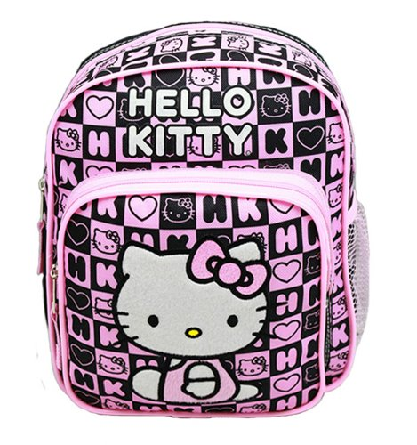 Mini Backpack - Hello Kitty - Black Box Checker
