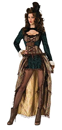 Forum Novelties 75015 Madame Steampunk fantaisie (UK 10–12)