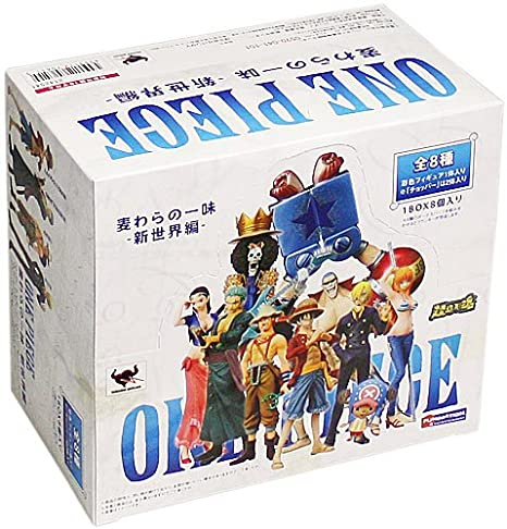One Piece Chozokei Damashii Mugiwara Pirates - New World Arc: 9 figurines