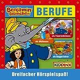Berufe Bundle - Folge 31 Benjamin Blümchen als Feuerwehrmann, Folge 49 Benjamin Blümchen als Müllmann, Folge 109 Benjamin Blümchen als Baggerfahrer
