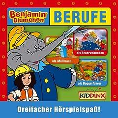 Benjamin Bl�mchen als Feuerwehrmann