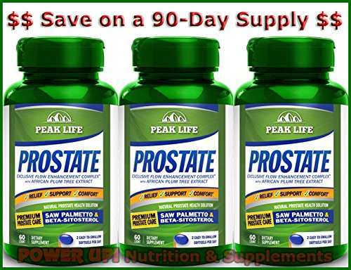 *90-Day Supply* Peak Life PROSTATE (60 softgels) (Prostate Peak Life compare prices)