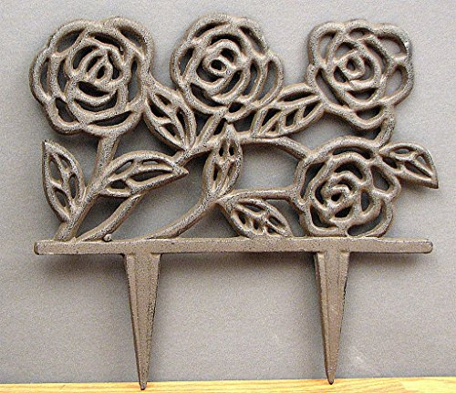 VoojoStore Rose Garden Stake - Unique Gift For Birthday Christmas Wedding Anniversary Engagement Graduation Couples Men Women Mom Dad Grandpa Sister Wife Husband Friends (Red Toolbox Birdhouse compare prices)