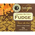 Radfords Crumbly Butter Fudge Box 100 g (Pack of 4)