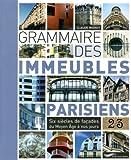 echange, troc Claude Mignot - Grammaire des immeubles parisiens 2013
