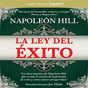 La Ley del Exito [The Law of Success] Audiobook