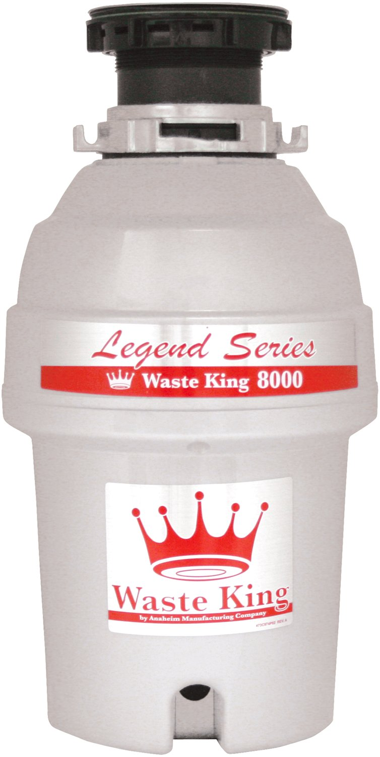 Waste King L-8000 Legend Series 1.0-Horsepower Continuous-Feed Garbage Disposal at Sears.com