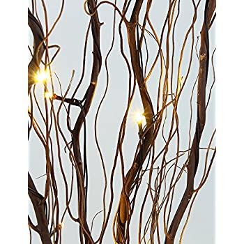 Lighted Branch for Home Decoration, USB Plug-in and Battery Powered