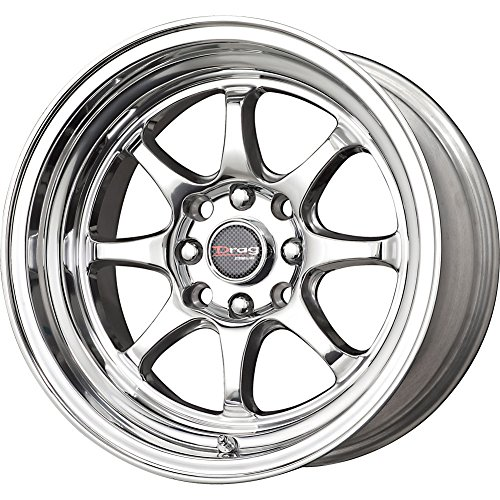 Drag Wheels Dr-54 15X7.5 4x100 4x114.3 polished 0 offset rims x4