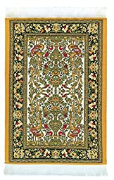 Oriental Carpet Mousepad - Authentic Woven Carpet - HEREKE Design