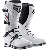 Fox Racing F3R Men's Off-Road/Dirt Bike Motorcycle Boots - White / Size 10