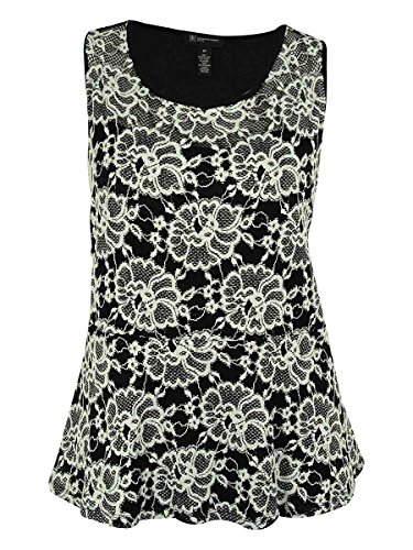 inc international concepts women lace peplum top plus size 2x (Inc Plus compare prices)