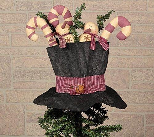 Snowman Hat Tree Topper