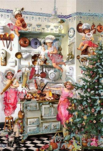 Victorian Angel Bakers Advent Calendar