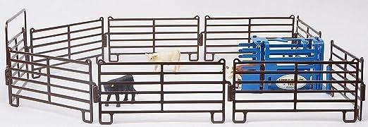 Calf Roping Chute 1/16 Calf Roping Arena Set