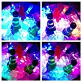 Online 12 MultiColor LED Submersible Battery Operated Tea Lights-Changes Colors-Wedding, Ice Bucket, Floral Arrangement, Party Decor