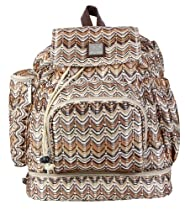 Kalencom Diaper Backpack, Ripples Harvest