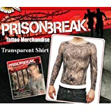 Halloween Costumes Gifts And Crazy Stuff Prison Break Adult Costume Transparent Tattoo Shirt By Tinsley Transfers Size Small Medium Apparel Newly Tagged Halloween