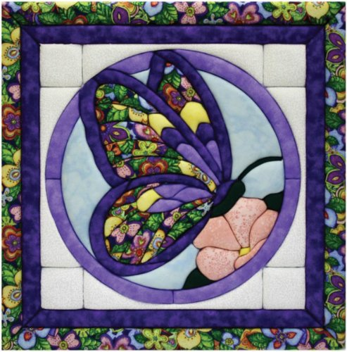 Quilt Magic 12-Inch by 12-Inch Butterfly Kit