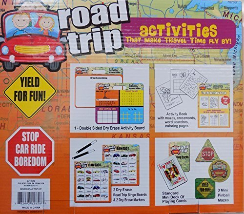 Road Trip - Activities That Make Travel Time Fly By! - 1