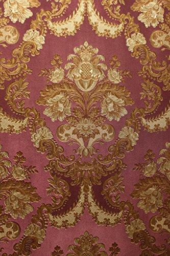 vinyl-tapete-barock-retro-lila-gold-fujia-decoration-22831