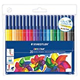 from Staedtler Staedtler Noris Club 326 WP20 Fibre Tip Pen In Wallet - 20 Assorted Colours Model 326WP20